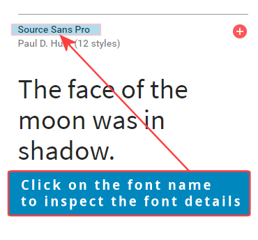 google fonts rss widget