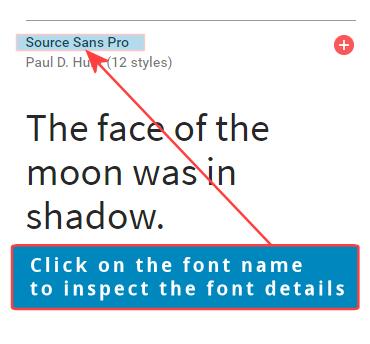 google fonts rss widget