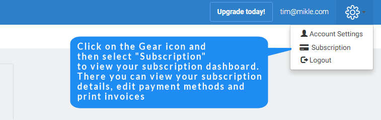 feedwind subscription