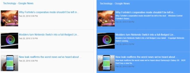 Create a Google News Widget : FeedWind Support